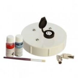 ADI PVC 100mm LOCKABLE CAP RETROFIT 2 inc. RING & GLUE