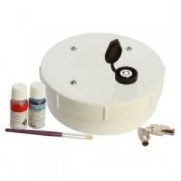 ADI PVC 150mm LOCKABLE CAP RETROFIT 1 inc. COUPLNG & GLUE