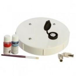 ADI PVC 150mm LOCKABLE CAP RETROFIT 2 inc. RING & GLUE