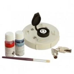 ADI PVC 90mm LOCKABLE CAP RETROFIT 2 inc. RING & GLUE