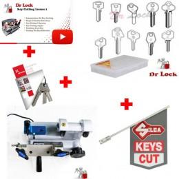 Mini Key Cutting Starter Package - 12V Kit 2