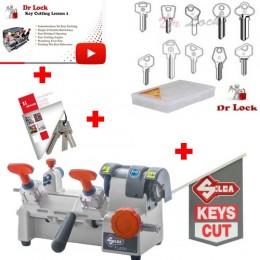 Mini Silca Key Cutting Starter Package - 240V Kit 3