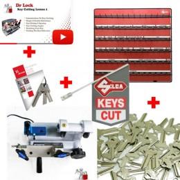 Large Key Cutting Starter Package - 12V Kit 4