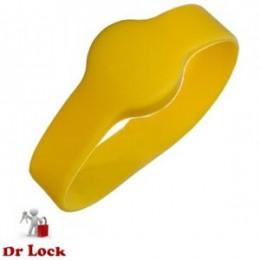 Yellow Wristband Access Fob - Medium