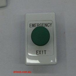Emergency Exit Green Button