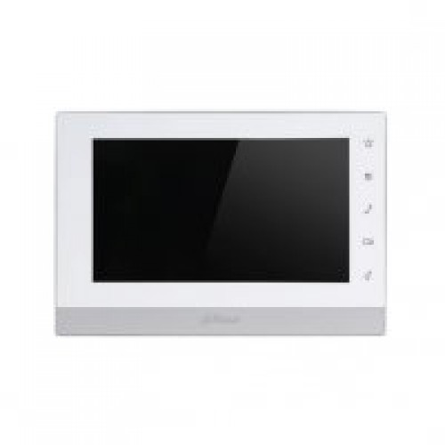 Dr Lock Shop DAHUA IP 7 TFT Touch Screen Indoor Monitor, White