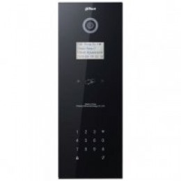 DAHUA IP Apartment Outdoor Station, Black Glass Finish, IP65 (Requires DH12VDC2A)