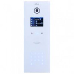 DAHUA IP Apartment Outdoor Station, White Glass Finish, IP65 (Requires DH12VDC2A)