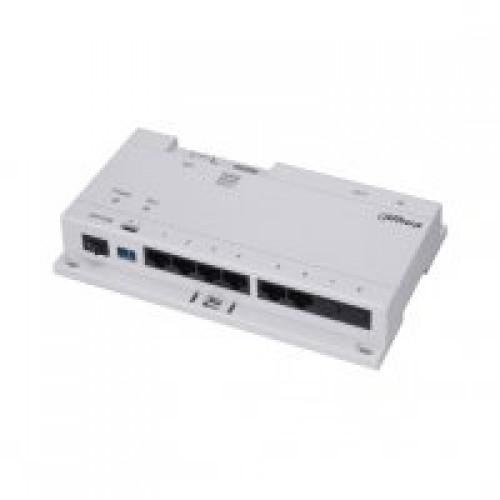 Dr Lock Shop DAHUA IP Intercom 6 Port PoE Switch (Requires DH24VDC2A)