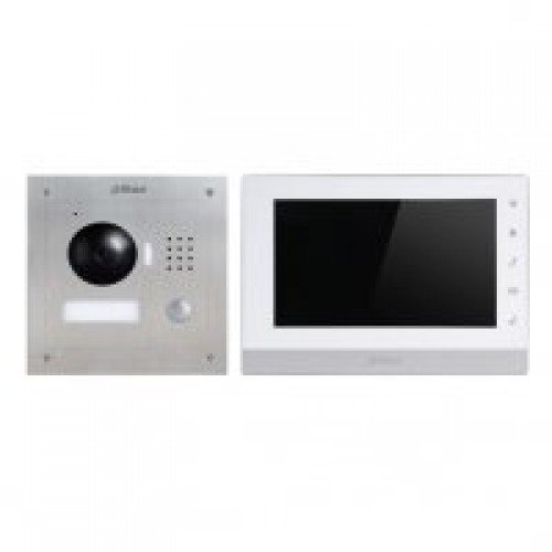 Dr Lock Shop DAHUA IP Intercom Kit VTO2000A -VTH1550CH Surface Mount