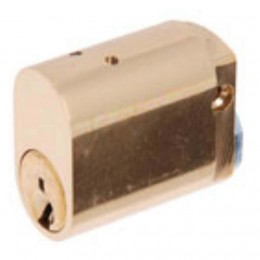 Abus 570 Oval Cylinder Brass