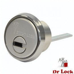 Mul-T-Lock High Security 201 Rim Cylinder - Satin Chrome