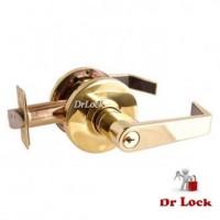 Brava EL Commercial Grade Classroom Lever Lock - Polished Brass