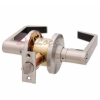Brava EL Commercial Grade Lever Glass door - Key both sides SS