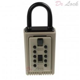 Key Safe Padlock - Supra - C3 - Hold 3 Keys -Clay Colour