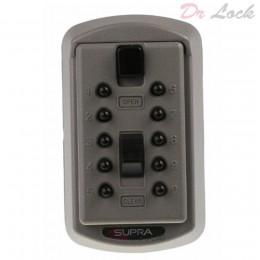 Key Safe - Supra - S6 - Hold 2 Keys - Titanium