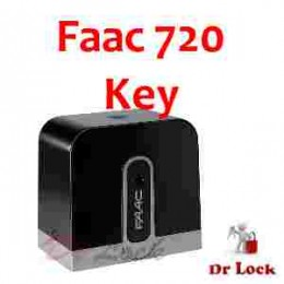 FAAC Gate motor override Key - Suit 720 - 721