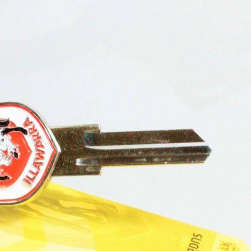 AFL Club 3 Dimension House Key Blank West Coast