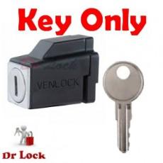 Remsafe - Venlock Window Lock Key