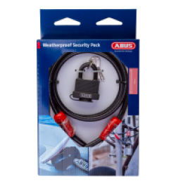 ABUS COMBO PACK CABLE PADLOCK COBRA 10-140 AND 70/45BLK