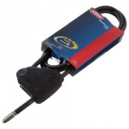 ABUS CABLE LOCK 210/185 MULTI LOOP ADJUSTABLE BLK