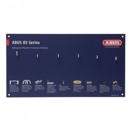 ABUS MERCH DISPLAY BOARD 83 SERIES - WEATHER PROOF