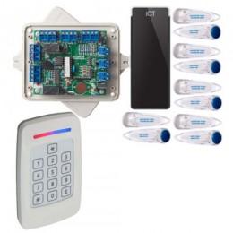 ACE FORMAT 1 DOOR KIT COMPLETE INCLUDES CS4100 KEYPAD