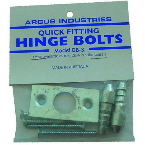 Dr Lock Shop ARGUS HINGE BOLT DB-3QUICK FIT 2 PIECE SET