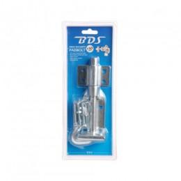 BDS PADBOLT HIGH SECURITY DP PAD150Z ZINC 150MM