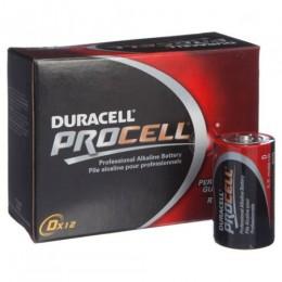 DURACELL PROCELL BATTERY D Pkt=12