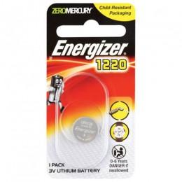 ENERGIZER BATTERY COIN CELL PK1 3V CR1220 LITHIUM