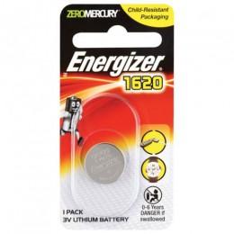 ENERGIZER BATTERY COIN CELL PK1 3V CR1620 LITHIUM