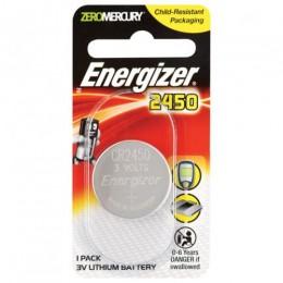 ENERGIZER BATTERY COIN CELL PK1 3V CR2450 LITHIUM