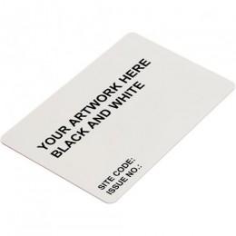 LINK BLANK ISO CARD PROGRAMMED EM/HID BLK & WHT PRINT