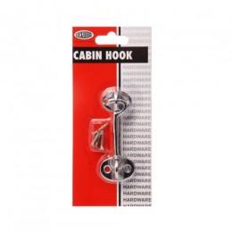 LOCKWOOD CABIN HOOK L829 75mm CP DP