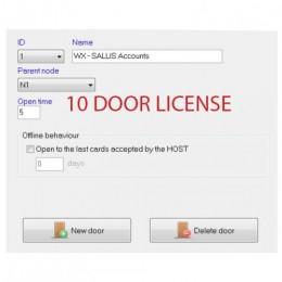 PROTEGE WX SALTO SALLIS 10 DOOR LICENSE