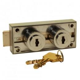 ROSS / AVA DUAL KEY SAFE DEPOSIT LOCK RS-AVA-DSDL