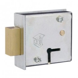 ROSS SAFE LOCK 102-NCUL L/COVER DUAL KEYWAY UP & LH