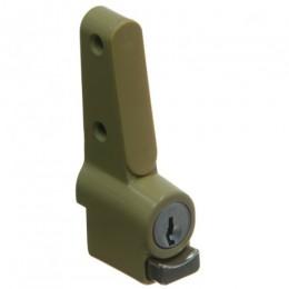 WHITCO PUSHLOCK W2201323C4 SL WINDOW LOCK CYL4 KEY DOE
