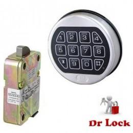 LA Gard 4715 Digital Safe Lock - Swing Bolt
