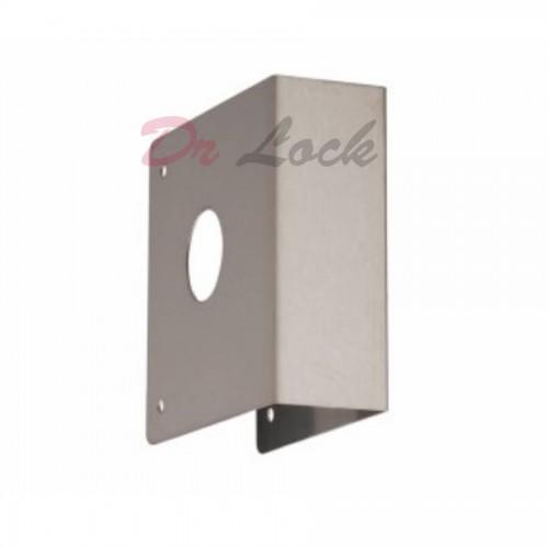 Deadlatch  Rim Lock Door Damage Wrap Plate 40mm Door