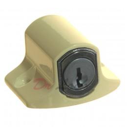 Push Lock Window Lock - Cream