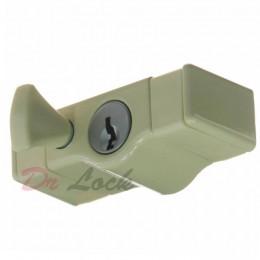 Sliding Sash Window Lock - Cream