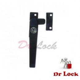 Window 25 Lock Push Out Black - Left