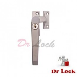 Window 25 Lock Push Out Silver -  Left