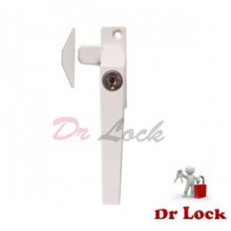 Window 25 Lock Push Out White -  Right
