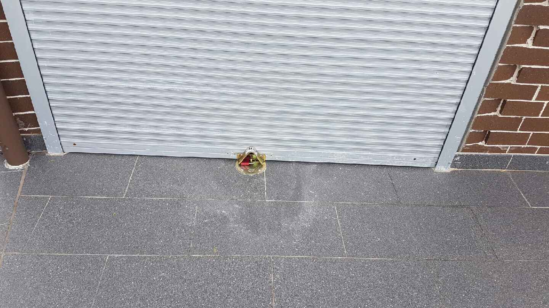 Garage Roller Door Anchor locks