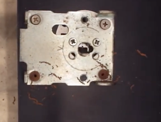 deadbolt repair plate