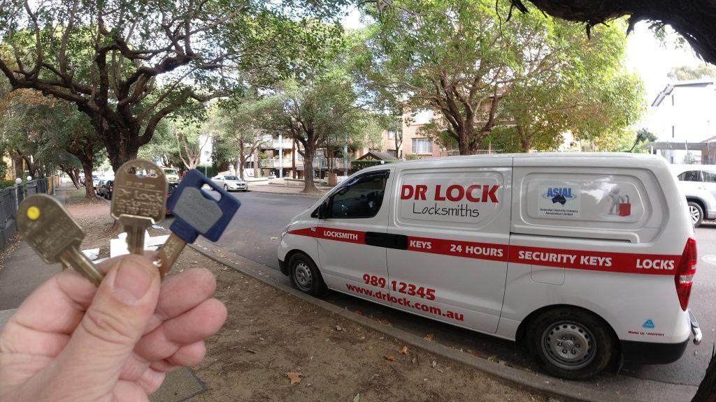 North Parramatta Locksmith Security Keys